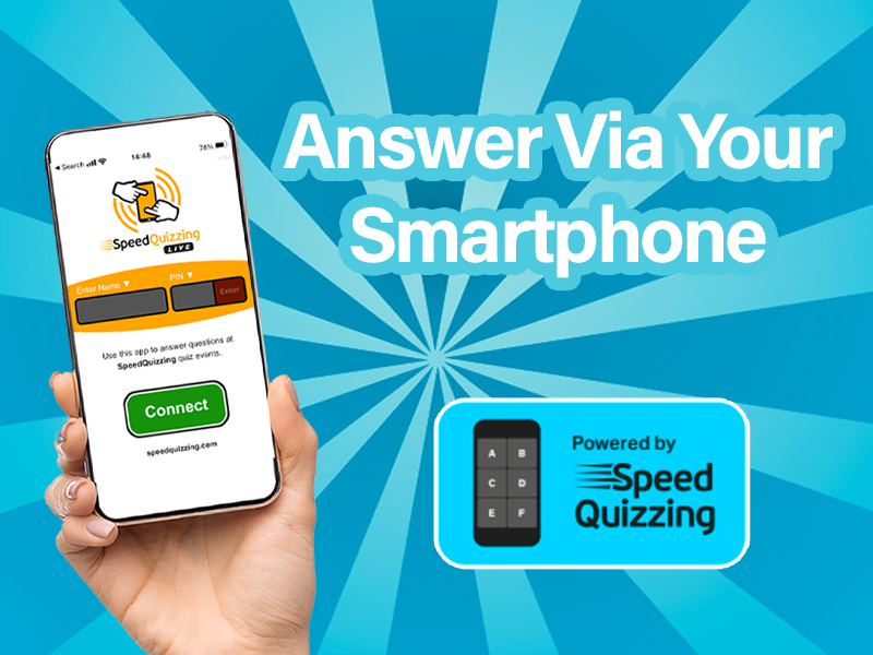 Answer via your smartphone